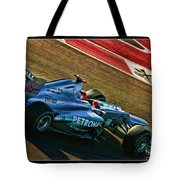 Michael Schumacher Silver Arrows Tote Bag