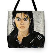 Michaeljacksoninoilpastel Tote Bag