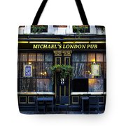 Michael's London Pub Tote Bag by David Pyatt