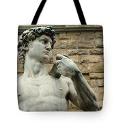 Michelangelo's David 1 Tote Bag