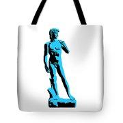 Michelangelos David - Stencil Style Tote Bag by Pixel Chimp