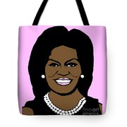 Michelle Obama Tote Bag by Jost Houk