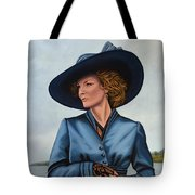 Michelle Pfeiffer Tote Bag by Paul Meijering