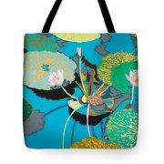 Michelles Secret Pond Tote Bag