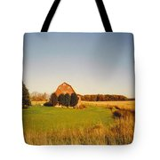 Michigan Barn And Landscape Tote Bag