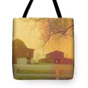 Michigan Barns Tote Bag