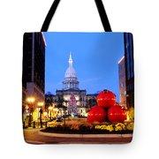 Michigan Capital Tote Bag