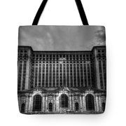 Michigan Central Station Bw Tote Bag