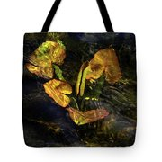 Michigan Fresh Water Ripples Tote Bag