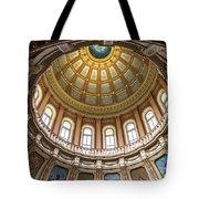 Michigan State Capitol Dome In Color  Tote Bag