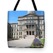 Michigan State Capital Tote Bag