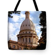 Michigan State Capitol Tote Bag