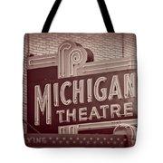 Michigan Theatre Tote Bag