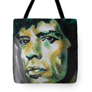 Mick Jagger Tote Bag by Chrisann Ellis