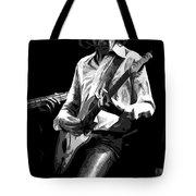Mick 1977 Art Bw Tote Bag