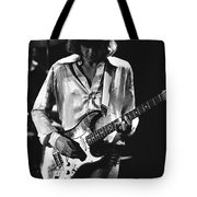 Mick On Guitar 1977 Tote Bag