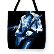 Mick Plays The Blues In Spokane 1977 Tote Bag