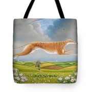Mick The Miller, 1992 Oils And Tempera On Panel Tote Bag