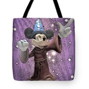 Mickey And The Stars Tote Bag