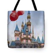 Mickey Mouse Balloon At Disneyland Tote Bag