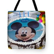 Mickey Mouse Cake Tote Bag