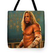 Mickey Rourke Tote Bag