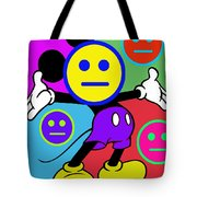 Mickey Smiles Tote Bag
