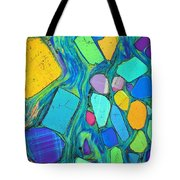 Art And Geology Tote Bag