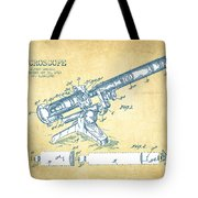 Microscope Patent Drawing From 1915 - Vintage Paper Tote Bag