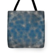 Microscopic Scale - Blue Tote Bag