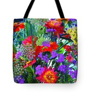 Mid August Bouquet Tote Bag