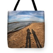 Mid Dec Day At The Beach...who Can Argue At Presque Isle State Park Series Tote Bag