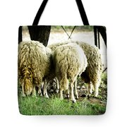 Midday Meeting At The Office  Tote Bag
