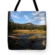 Middle Fork Of The San Joaquin River Tote Bag