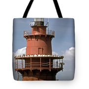 Middle Ground Lighthouse Tote Bag