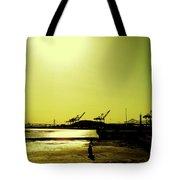 Middle Harbor Shoreline Park Tote Bag