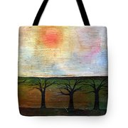 Middle Of Day  Tote Bag