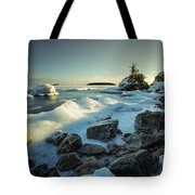Middlebrun Bay Sunset II Tote Bag