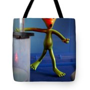 Midnight Alien Skinnydipping Party Tote Bag