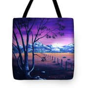 Midnight At The Border Tote Bag