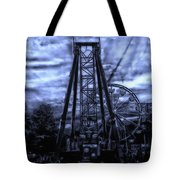 Midnight At The Carnival Tote Bag