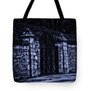 Midnight At The Prison Gates Tote Bag