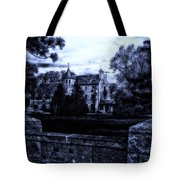 Midnight At The Prison Tote Bag