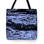 Midnight Battle All Alone Tote Bag