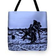 Midnight Battle Stay Close Tote Bag
