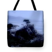 Midnight Cypress Tote Bag