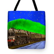 Midnight Express Tote Bag