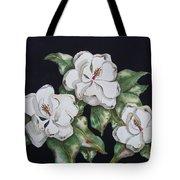 Midnight Magnolia Tote Bag