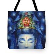Midnight Meditation Kuan Yin Tote Bag