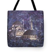 Midnight Mosque Tote Bag